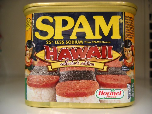 SPAM Hawai'i Limited Collector's Edition Tin (front) | by selva