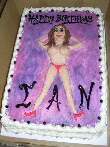 Ian's Boobie Cake | by Killah K
