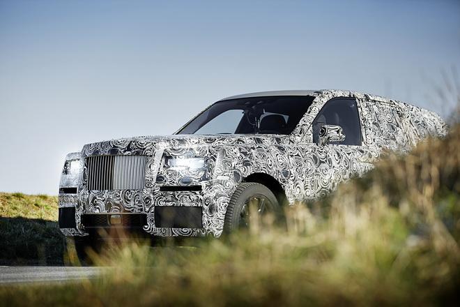 Rolls-Royce Cullinan-不受地域限制  化不可能為可能