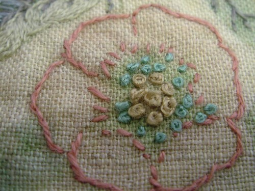 flower embroidery detail | by jude hill