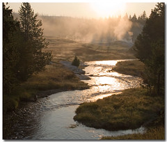 Early morning on the firehole. - 1129 - Do not download this image under any circumstances. | by dicktay2000