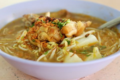 Soto Ayam (Spicy Chicken Soup) | by My Little Rascal