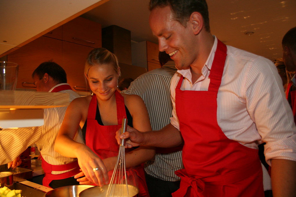 Active cooking at Foodlab Stockholm