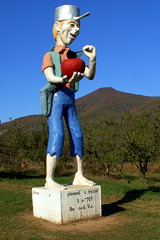 Johnny Appleseed at the foot of the Peaks of Otter | by WV Fan