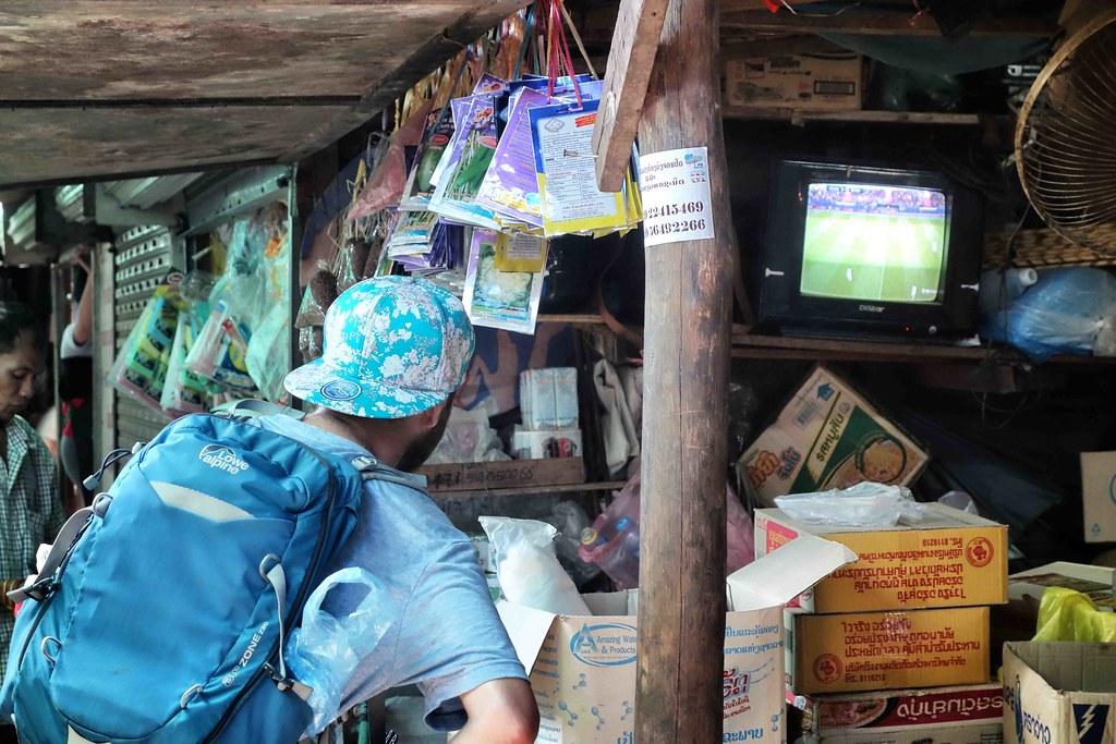 Vientiane - Khua Din Market 1