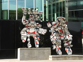 Faribolus and Perceval by Jean DuBuffet | by Fleur-de-louis