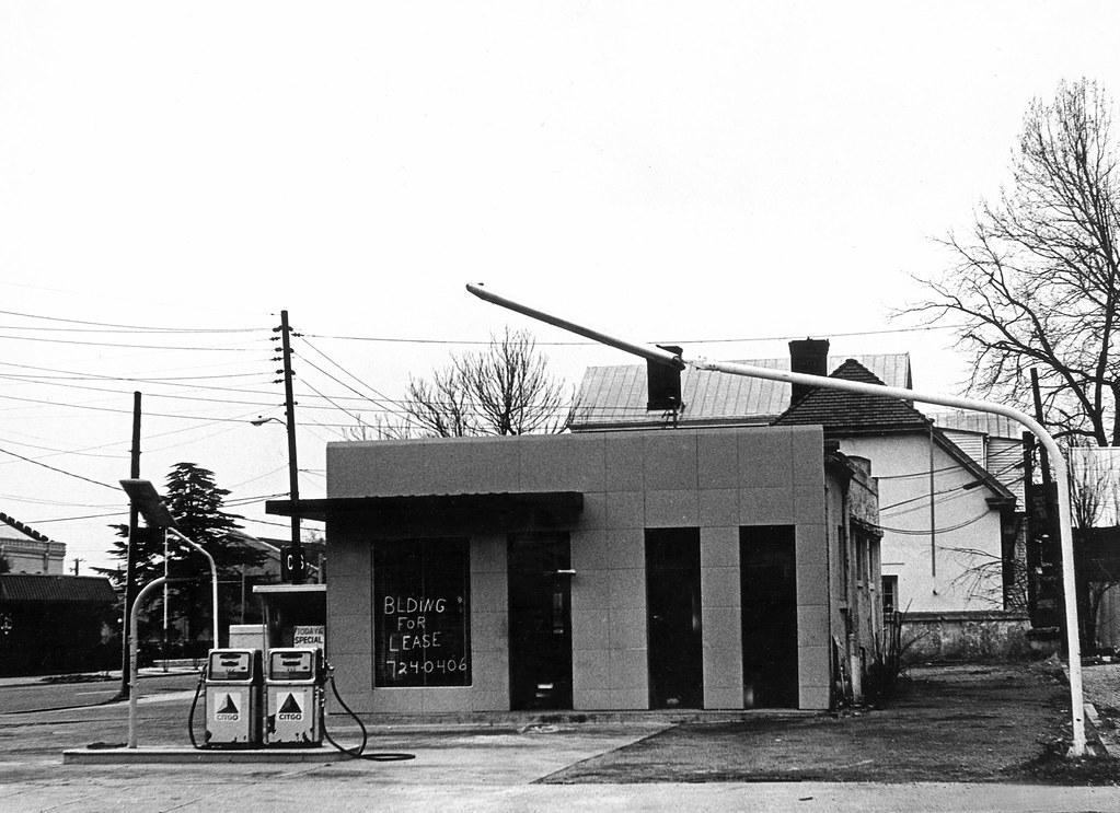 Gas Station for Lease, Walton Way, Augusta, GA 1970s