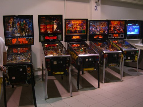 fashioned pinball machine
