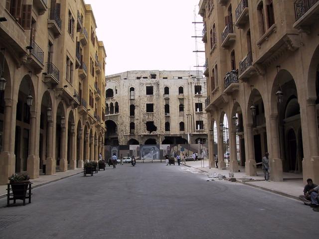 Brand new Beirut, Lebanon