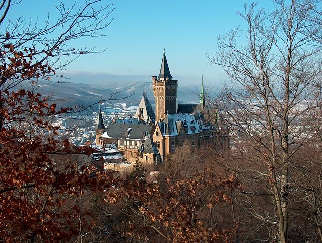 castle of wernigerode (harz) germany