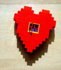 Adjusted Lego Heart | by Bob.Fornal