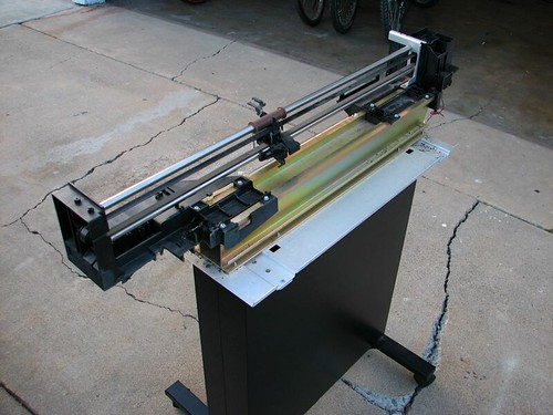 HP Plotter, Stripped | by oskay