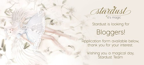 .Stardust is looking for Bloggers!.