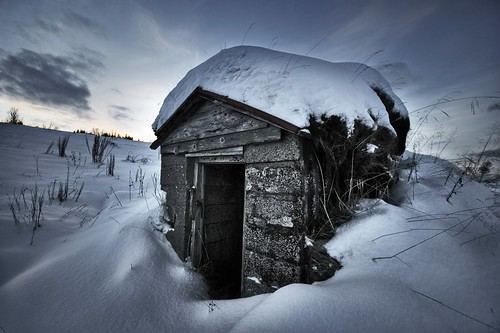 A shed ... | by asmundur
