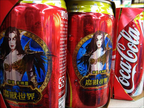 World of Warcraft Coke cans | by hey-gem