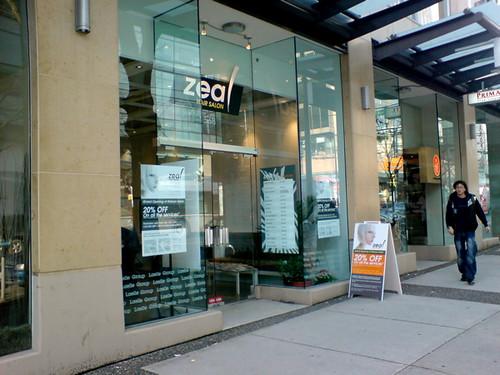 Zeal Hair Salon On Robson A New Japanese Style Hair