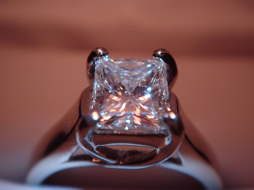 Carat Princess Cut Diamond Engagement Ring