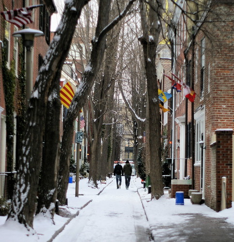 Philadelphia in snow | by moocatmoocat