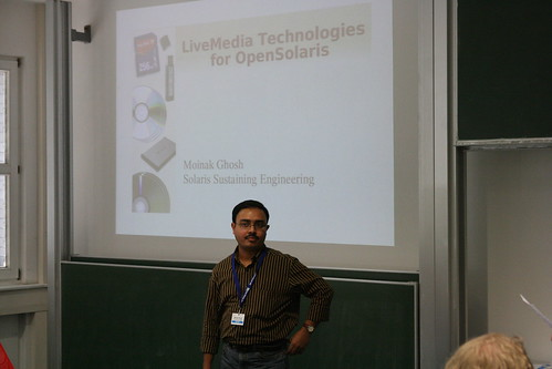 Moniak Gosh speaking about LiveMedia Technologies | by stiefkind
