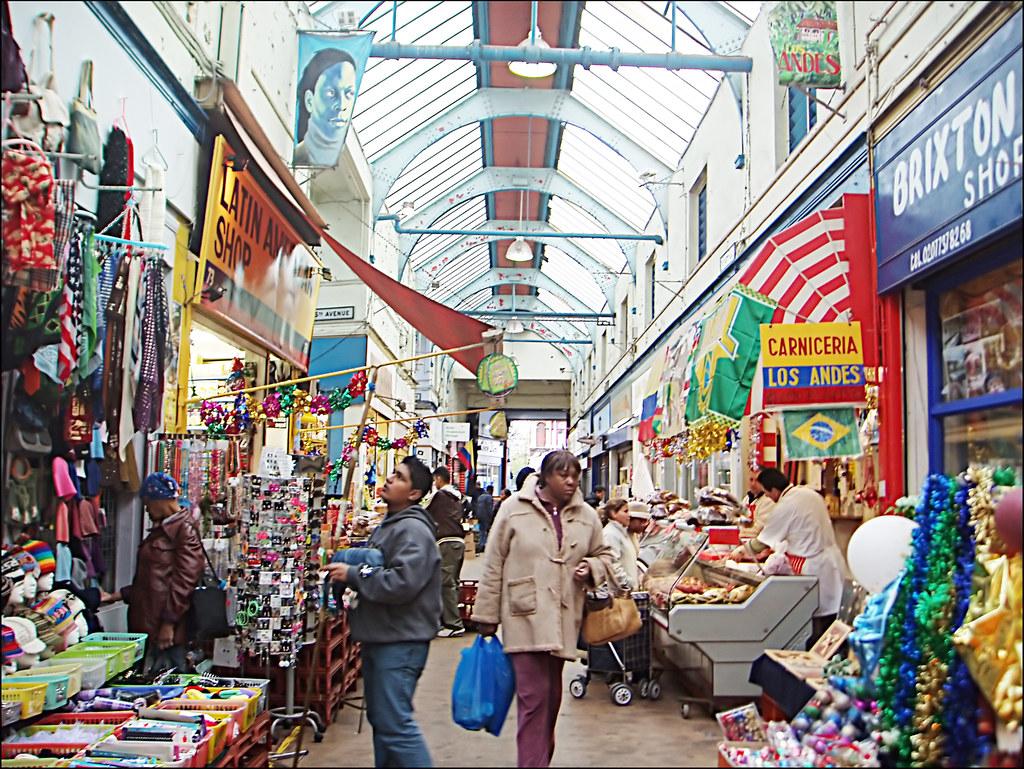 Brixton Market à Londres - Photo de Karin Bultje