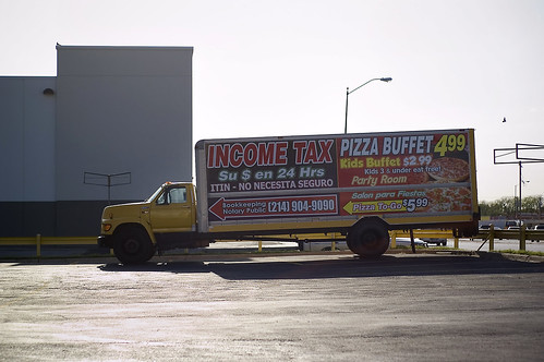 income tax / pizza buffet | by samuelcharlessolomonthethird