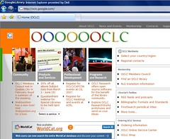 New OCLC home page | by ALA staff