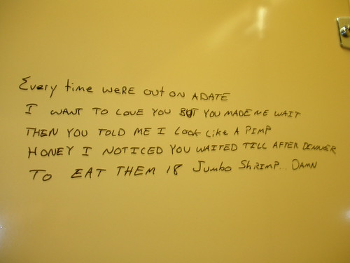 bathroom wall poem every time were out on a date i want to flickr