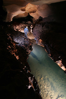 cox cave system sharp mountain tnc preserve jackson co al jeff moore upsteam sump pool 4 | by Alan Cressler