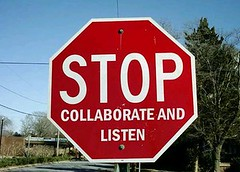 stop collaborate and listen | by CaraMaya