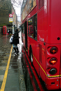 Vivid wet Shoreditch morning | by fabbio