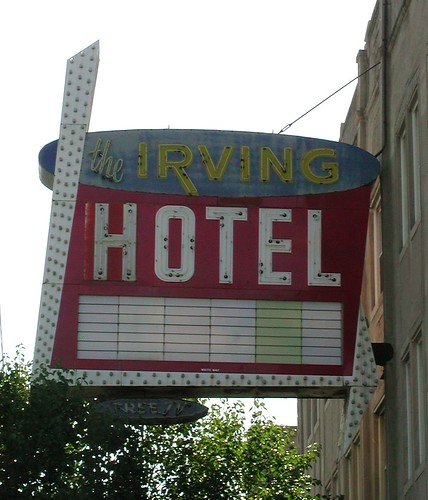 Irving Hotel Sign | by pixeljones