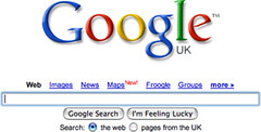 Google Adds Maps Link to UK Search | by rustybrick