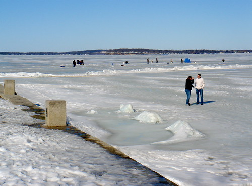 Lake Mendota in March | by Ann Althouse