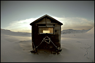 One house in the nowhere