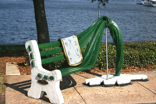 Salvador Dali's Melted Bench | by jkc photos