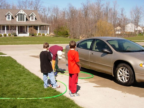 Car Wash Sprayer With Soap Dispenser