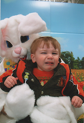 Jakie LOVES the Easter Bunny... | by poohmom2005