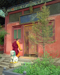 Late for Prayer at Gandan Monastery | by JakeBrewer