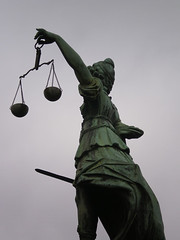 Justitia in Frankfurt | by chaouki