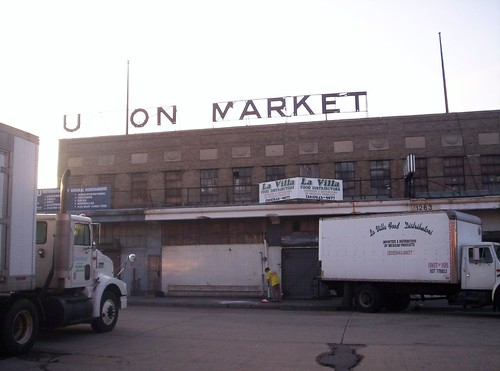 Union Market Sign