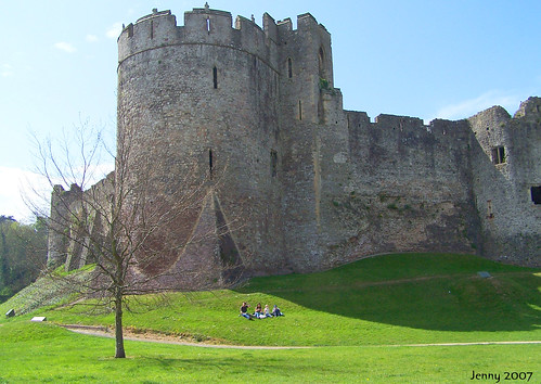 Chepstow Castle | by welshlady