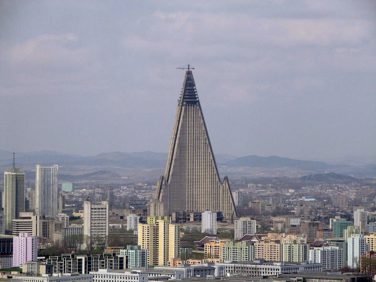 Ryugyong Hotel In Middle Of Pyongyang Still Waits To Be Opened