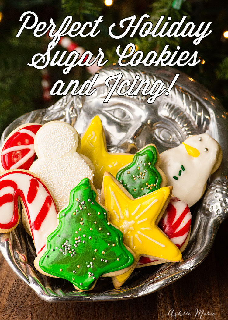 the perfect holiday cookies and icing - along with tips for cookies