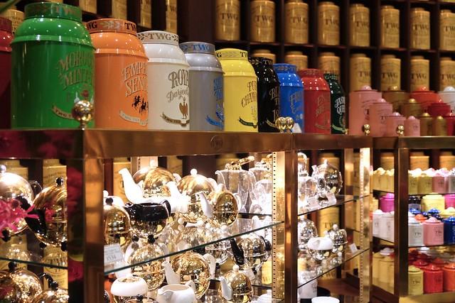 TWG Tea Salon & Boutique   Downtown Vancouver
