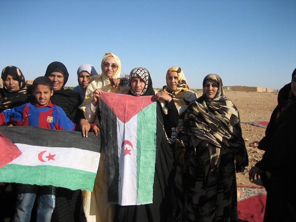 Banderas saharauis - Sahrawi flags