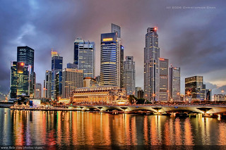Singapore Skyline (#12) | by Christopher Chan