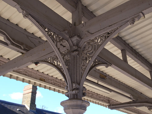 Kent House Station Ironwork