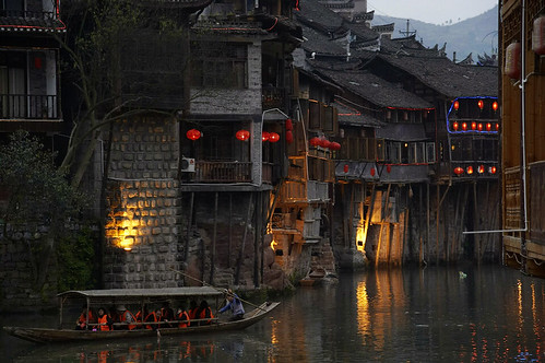 Night Scenary of Fenghuang, China 鳳凰 古城夜色 | by hk_traveller