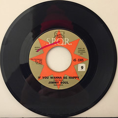 JIMMY SOUL:IF YOU WANNA BE HAPPY(RECORD SIDE-A)