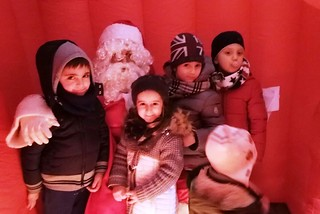 Noicattaro. Villaggio Babbo Natale front